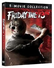 VENERDI' 13 COLLECTION  5 DVD  COFANETTO  HORROR