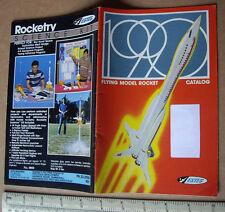 1990 Estes USA CATALOGO Flying MODELLO ROCKET ATTREZZI E MOTORI. EDIZIONE UK