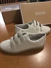 NWT Michael Kors Women's Size 9M Craig Strap Patent Leather Sneakers MSRP $125