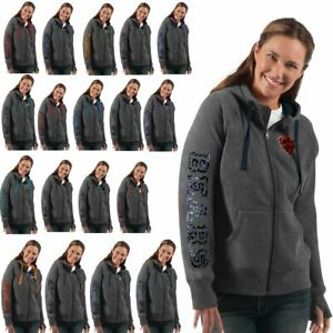 Officially Licensed NFL Women's Playoff Full-Zip Jacket by Glll 613530-J