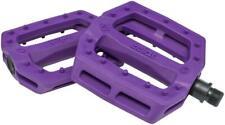 "Eclat Slash Pedals - Platform, Composite/Plastic, 9/16"", Purple"