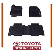 Genuine Toyota Rav4 2013-16  All Weather Rubber Floor Mat Liners OEM OE