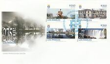 Chile 2014 FDC 275 years Los Angeles