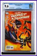 Wonder Woman #613 CGC Graded 9.6 DC September 2011 White Pages Comic Book.