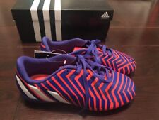 Adidas Predito FxG J Youth Kids Soccer Cleats Size 2.5 Nwt