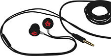 Sons Of Anarchy Earbuds & Mic Black/Red Anarchy Symbol SOA iPhone
