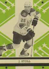 11-12 O-Pee-Chee Retro BLANK BACK Parallel Jared STOLL #229 - Kings