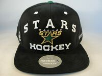 Dallas Stars NHL Reebok Snapback Hat Cap Black