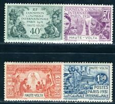 HAUTE VOLTA 1931 Yvert 66-69 * SATZ EXPOSITION (09228