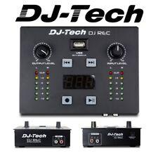 Dj Tech Dj Rec Mkii MK2 Ligero Portátil USB Dj Grabación Solución