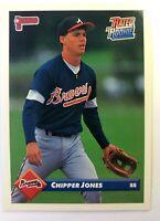 1993 93 Donruss Chipper Jones Rookie RC #721, Atlanta Braves HOF