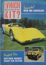Which Kit? magazine 09/1988 featuring Dax Tojeiro, Tornado