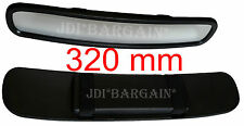 Universal 320 mm Wide Rear View Interior Large Mirror Car Van Truck Curved Strap