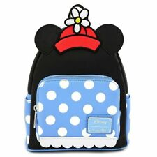 Official Loungefly Disney Positively Minnie Mouse Polka Dots Mini Backpack Bag