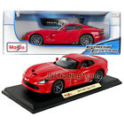 Maisto Special Edition 1:18 Scale Die Cast Red Sports Car 2013 SRT VIPER GTS