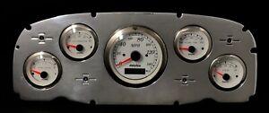 1959 Ford Car GPS Gauge Cluster White