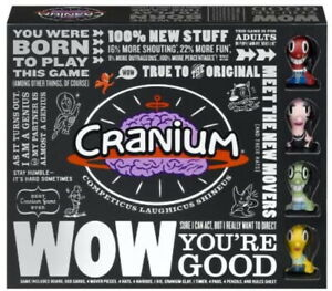 CRANIUM WOW You're Good Adult Board Game 2007 NEW Factory Sealed
