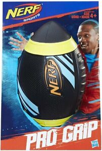 Nerf Sports Pro Grip - Soccer Ball Black Brand New Outdoors Game Hasbro #NG
