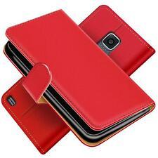 Handy Hülle Samsung Galaxy S5 Mini Schutz Etui Booklet Cover PU Leder Tasche