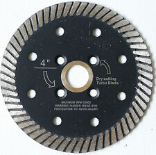 4 inch Diamond Turbo Cutting Blade Granite Concrete Stone Marble