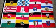 16 BUNDESLÄNDER  Fahne Flagge Deutschland 90 x 150 cm
