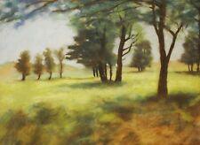 "Gary Adelman, ""Landscape"", 17x23.5, Pastel, Original, Landscape, Impressionistic"