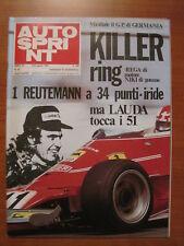 AUTOSPRINT 32/1975 - Gp Germania/Carlos Reutemann/Formula Ford/Bmw Serie 3