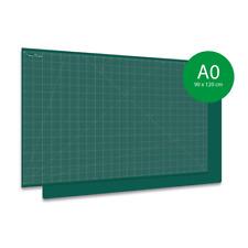 Schneidematte, Schneideunterlage Grün, PRO Line XXL groß A0 (90x120cm) 1-seitig