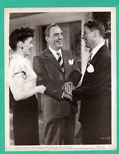 ELLEN DREW PAT OBRIEN RUDY VALLEE Movie Star Promo Photo 1945 MAN ALIVE 8x10