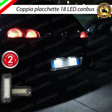 COPPIA LUCI TARGA LED PLACCHETTE COMPLETE CANBUS VOLKSWAGEN GOLF 6 VI 6000K