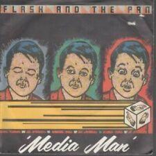 "FLASH AND THE PAN Media Man 7"" VINYL UK Ensign B/W Make Your Own Cross (Envy13)"