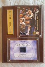 Keith Van Horn 97-98 Rookie Game Used Jersey Plaque - Press Pass Double Threat