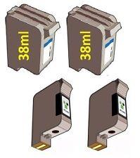 4 x Tintenpatronen für HP PSC 700 720 750 900 950 / 78 + 15 SUPER XXL Version