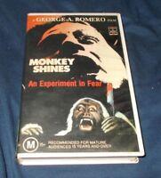 MONKEY SHINES VHS PAL GEORGE ROMERO