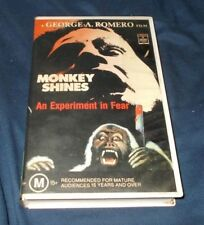MONKEY SHINES VHS PAL GEORGE ROMERO