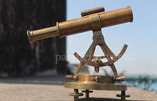 """Nautical Alidade telescope compass survey equipment decor gift in Antique Fin~8"""""""