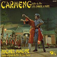 BOF CARMENG MICHEL MAGNE JEAN YANNE FRENCH 45 SINGLE OST