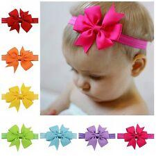 20tlg. Baby Mädchen Schleife Blumen Stirnband Haarband Kopfband 20Farben