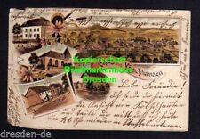 116924 AK Kölschhausen Ehringshausen Litho 1901 Schule Kirche Pfarhaus Geschäfts