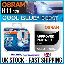 2x OSRAM H11 COOL BLUE BOOST BULBS for toyota AURIS 1.8 Hybrid 09.10-09.12