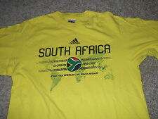 WORLD CUP 2010 South Africa official FIFA t-shirt Adult Medium ADIDAS soccer