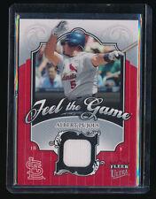 Albert Pujols 2006 Ultra Feel The Game #Ap Jersey St. Louis Cardinals