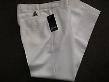 StyleKnit Lawn Bowls Trousers Pants Cream BA Approved Logo FREE POSTAGE