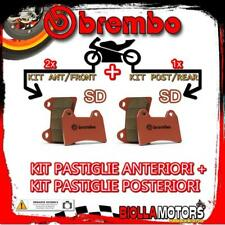 BRPADS-25072 KIT PASTIGLIE FRENO BREMBO POLARIS RZR 2008- 800CC [SD+SD] ANT + PO