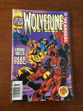 WOLVERINE ANNUAL 1999 NM DEADPOOL MARVEL COMICS NEWSSTAND EDITION