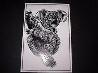 BIOWORKZ Handbill silkscreen postcard Print ENGLISH BULLDOG poster art