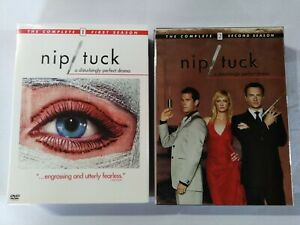 Nip/Tuck The Complete 1st and second Seasons DVDs Region 1