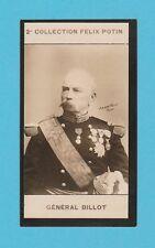 MILITARY  -  FELIX  POTIN  OF  FRANCE  -  GENERAL  BILLOT  -  1908