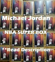 Michael Jordan NBA Super Box: 25 Cards Including: 1 Autograph+ 3 Michael Jordan