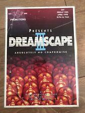 Dreamscape 3 Rave Flyer Laminated